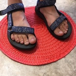 Teva Chaco sandals in purple and black